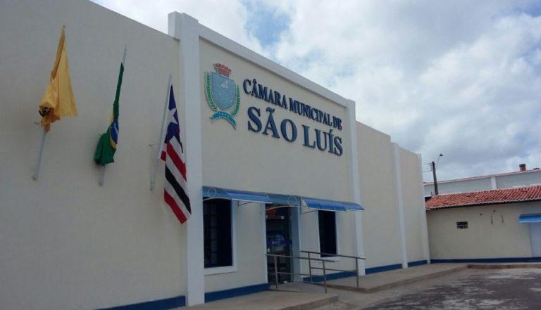 Fachada da Câmara Municipal de Vereadores de São Luís...