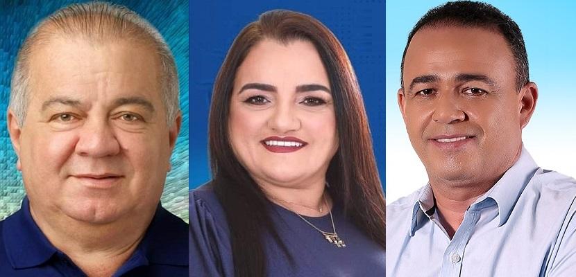 Fufuca, Josinha e Erlânio são cotados para reeleição com alto percentual sobre o segundo colocado...