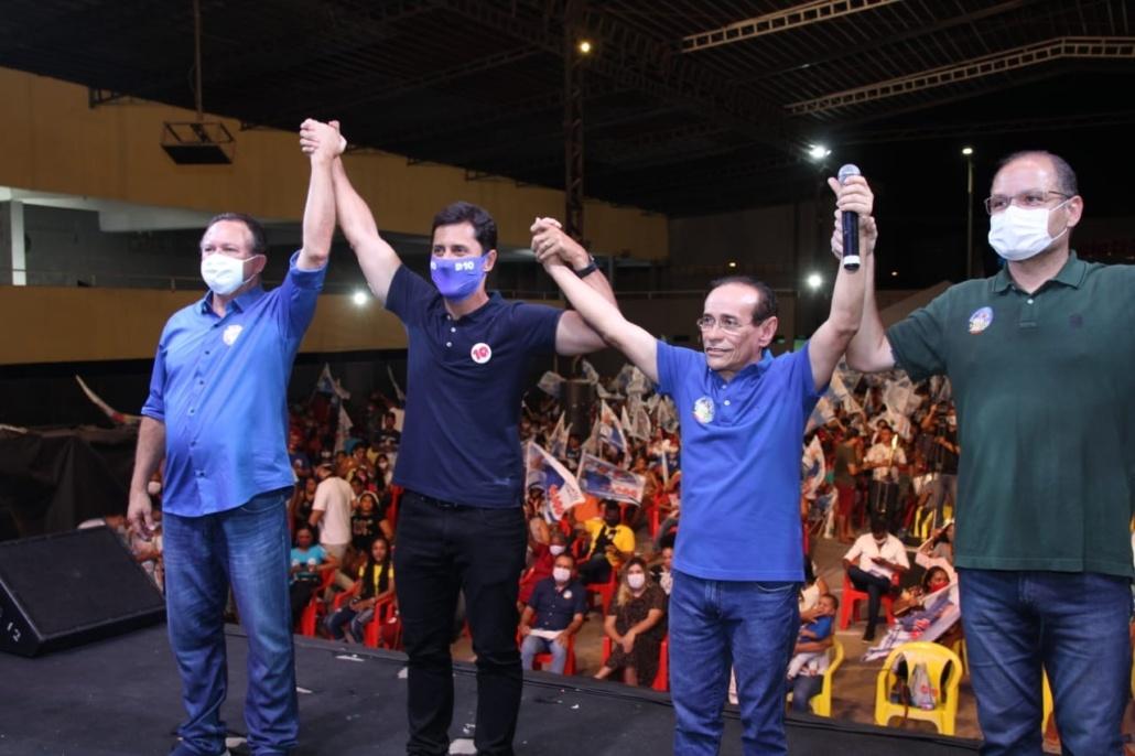 Pinto também confirmou apoio a Duarte Júnior para prefeito...