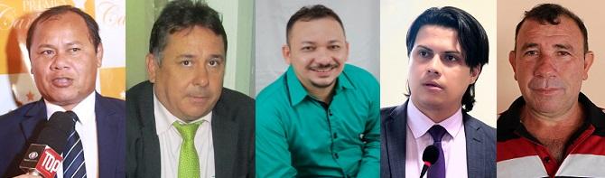 Beka, Laurivan, Magno, Wagner e Enoque votaram pela aproção do projeto...