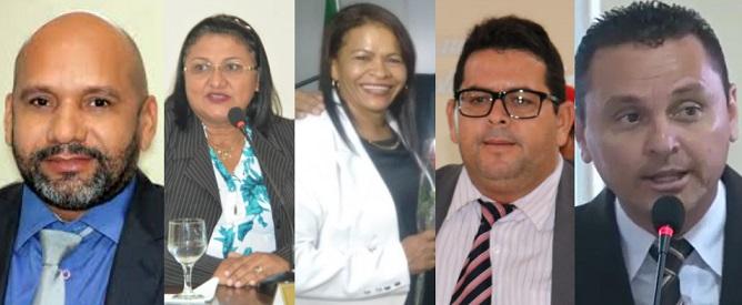 Votaram contra a efetivação dos servidores: Josevaldo, Eliene, Rosa, Joaquim e Ribamar...