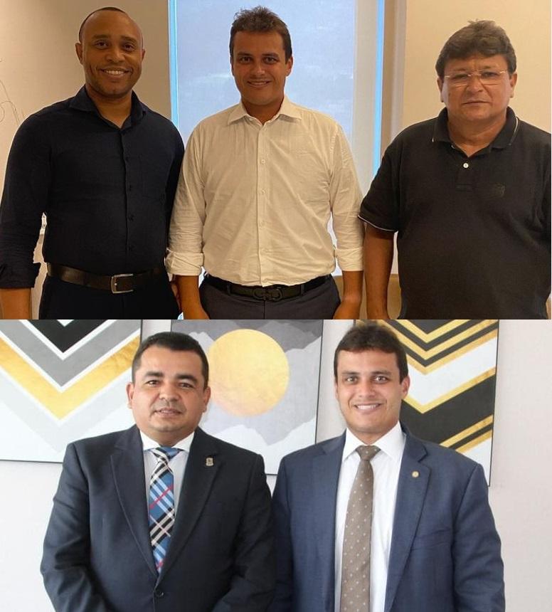 Glalbert Cutrim conta com o apoio de Beto Castro, Armando Costa e Edson Gaguinho...