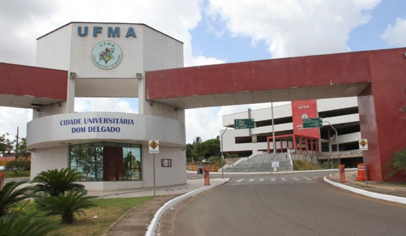 Portal de entrada da UFMA...