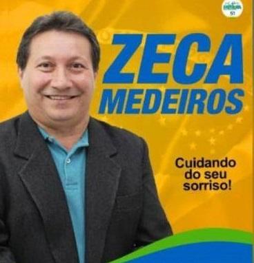 Zeca Medeiros assumirá nos próximos dias a cadeira de Batista Matos..
