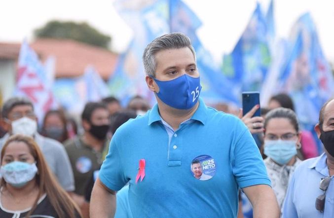 Além de perder a eleição e não chegar ao segundo turno, Neto ainda saiu defendo da campanha... e não quer pagar...