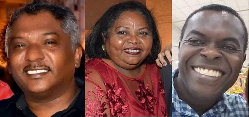 Juarez, Rosenira e Batista Matos foram infectados pela Covid-19 e tiveram complicações resultante da doença, como infecções de origem bacteriana nos hospitais.