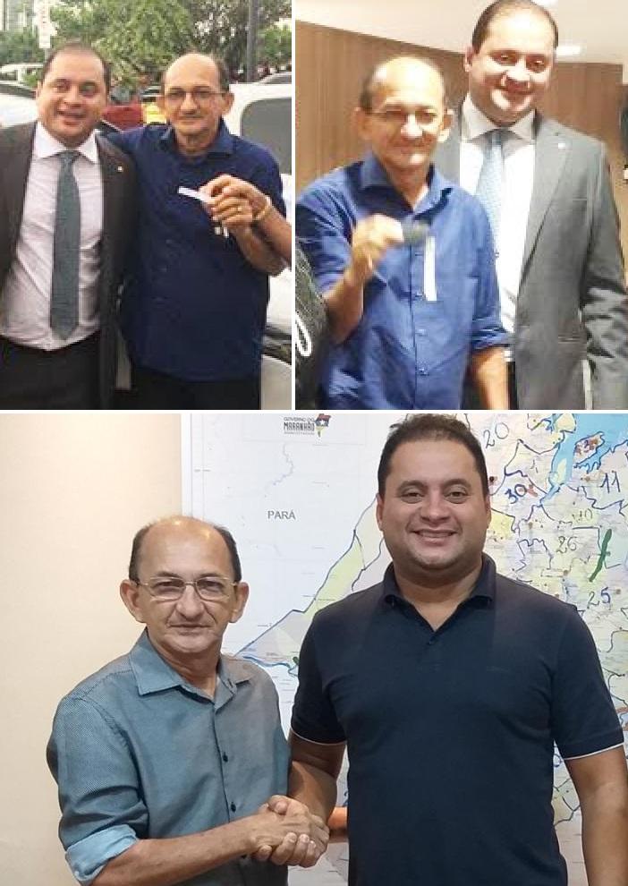 Prefeito Zé Farias, do PDT. foi reeleição em 2020 para mais um mandato na cidade de Brejo; o gestor é aliado de primeiro hora do senador Weverton...
