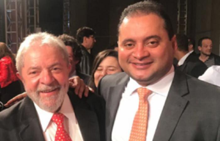 Weverton que aproximação com Lula...