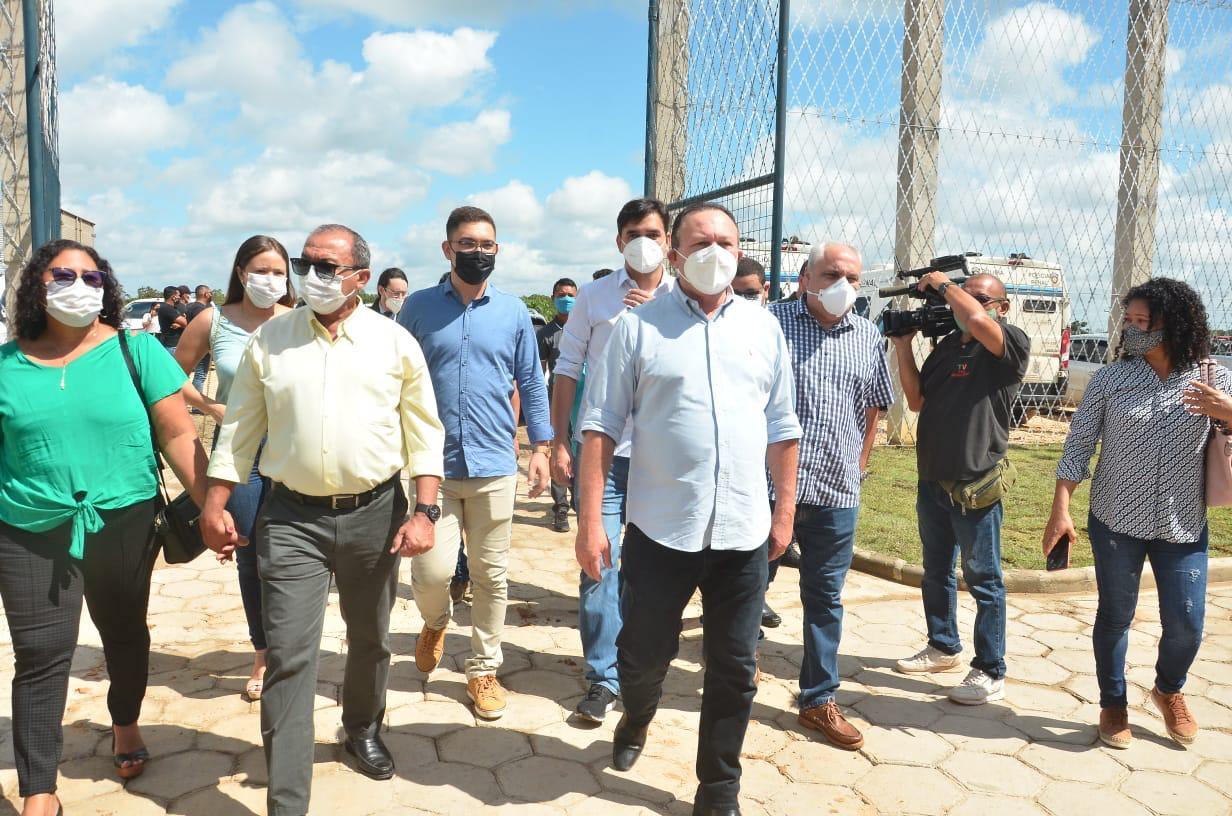 Vice-governador entregou Penitenciária Regional de Governador Nunes Freire...