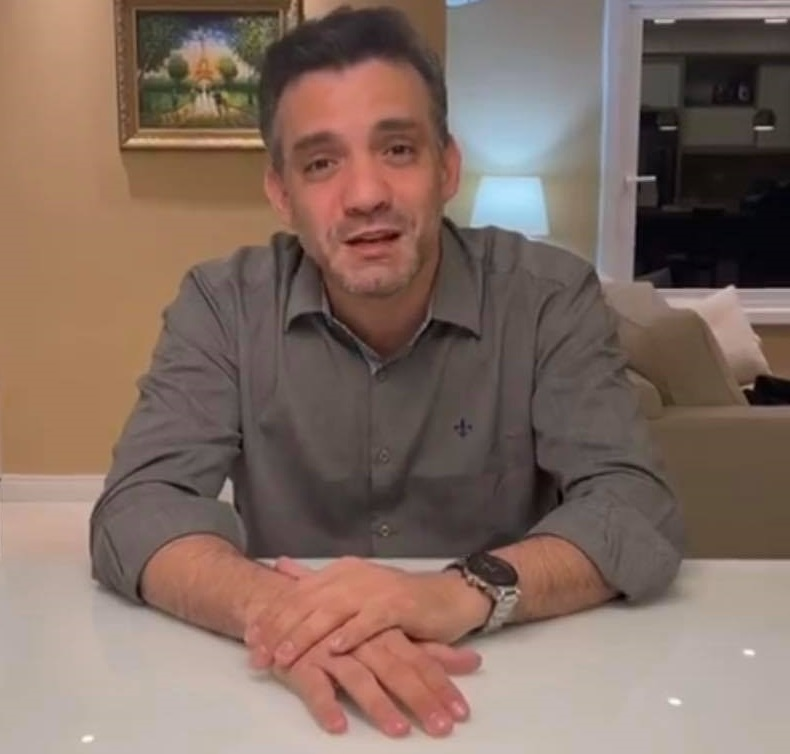 Presidente da OAB-MA, Thiago Diaz, teve de fazer vídeo para não desanimar aliados...