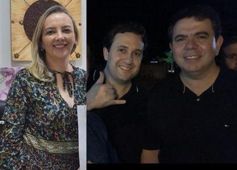 Dailma Maria de Melo, titula da 1ª Promotoria, é esposa do médico Huascar Mello Fernandez, funcionário da gestão do também médico Dr. Erik.