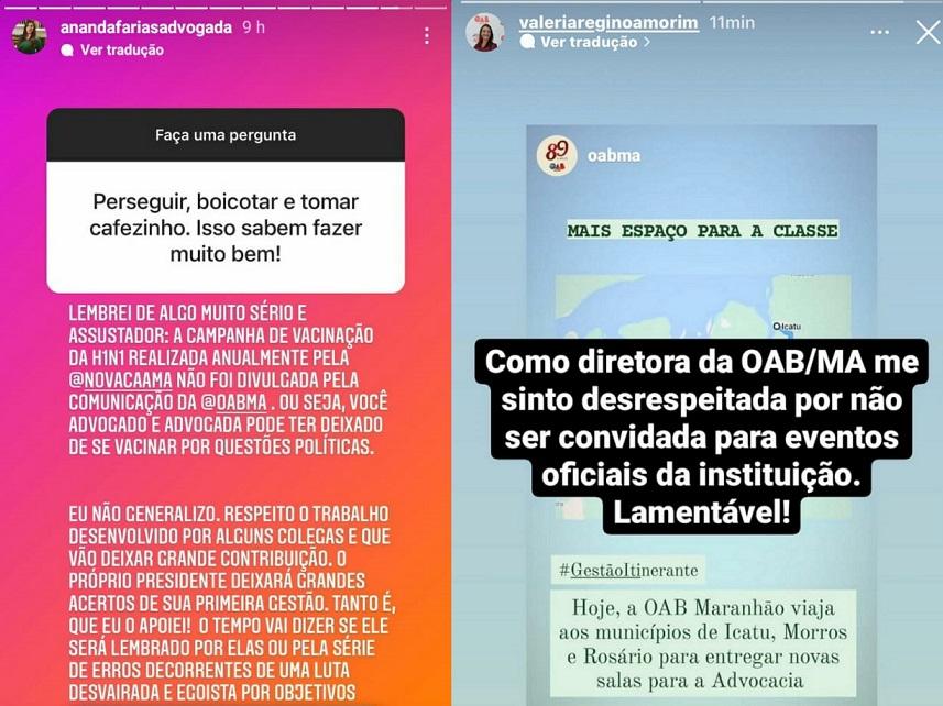 Secretária Geral Ananda Farias e a Secretária Adjunta, Valéria Regino, denunciaram boicotes típicos de um tirano prestes a ser deposto.
