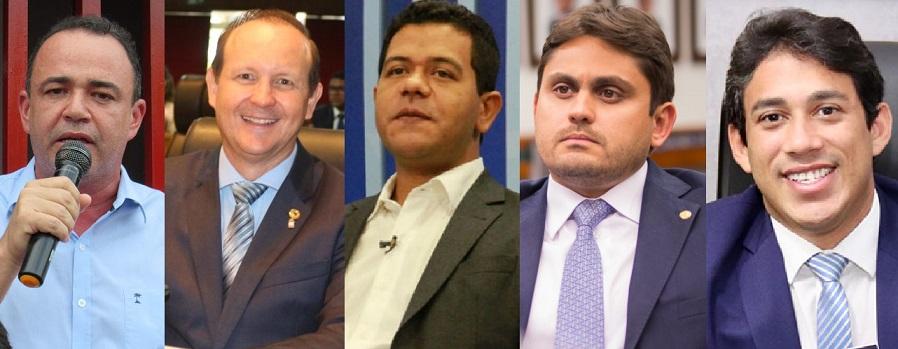 Erlânio Xaiver, Márcio Honaiser, Luciano Leitoa, Juscelino Filho e Osmar Filho... todos posuem a confiança de Weverton Rocha...