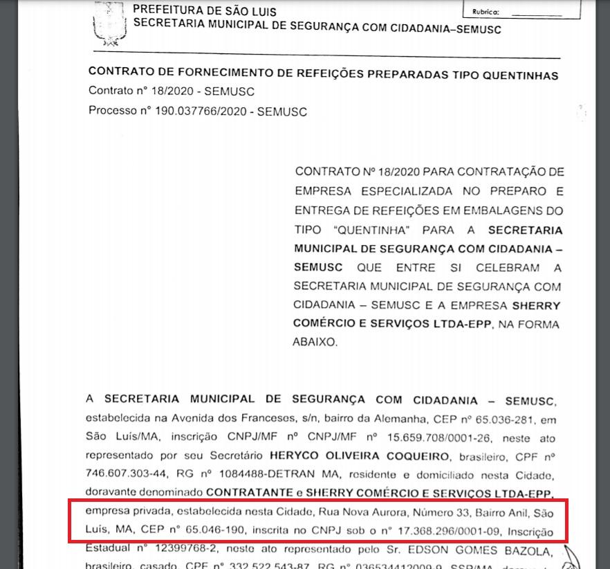 Empresa informou um endereço incompatível com o registro do CNPJ na Receita Federal....