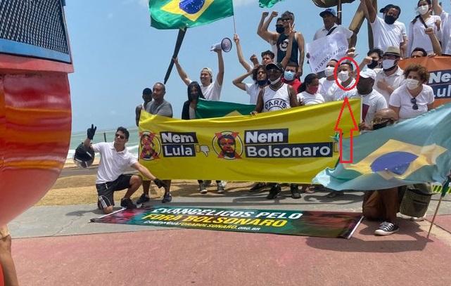 Movimento organizado pelo PDT contra Lula e também Bolsonaro...